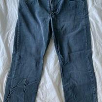 Authentic Armani Exchange Blue Corduroy Boys Mens Pants Size 33 Zipper Fly Photo
