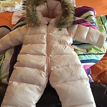 Authentic Baby Moncler Snowsuit Photo