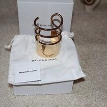 Authentic Balenciaga Bracelet - Gold Photo
