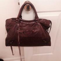Authentic Balenciaga Leather Handbag  Photo