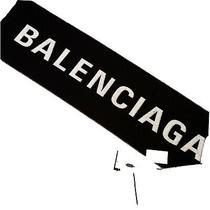 Authentic Balenciaga Logo Scarf Photo