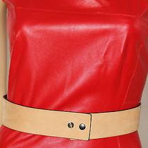 Authentic Balenciaga Paris Genuine Leather Reversible Belt Size 36 Photo