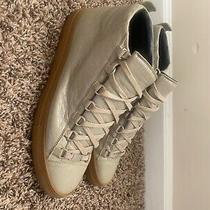 Authentic Balenciaga Sneakers Creme Size 42 Worn Once Photo