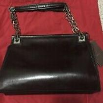 Authentic Bally Black Purse Bag  Handbag Tote Brand New With Tags Photo