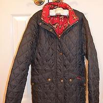 Authentic Barbour Girl's Cavalry Quilted Jacket  - Navy - Xxl - Like New Photo