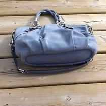 Authentic Beautiful Blue Coach Bag in New Like Condition  Photo
