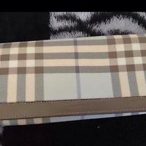 Authentic Beautiful Burberry Wallet Photo