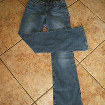 Authentic Bebe Jeans Antique Wash Sz 27 X 32 Photo