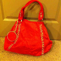 Authentic Bebe Red Tote  Photo