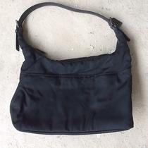Authentic Black Coach Hangbag Photo