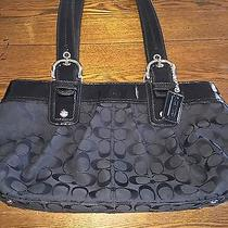 Authentic Black Coach Purse Photo