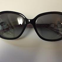 Authentic Black Coach Sunglasses - Beatrice Edition Hc8019 Photo
