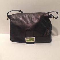 Authentic Black Fendi Handbag Photo