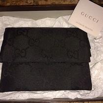 Authentic Black Gucci Wallet From Italy Photo