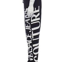 Authentic Black/white Versace Jeans Couture Pants Size Xxl Photo