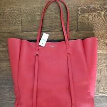 Authentic Bnwt Balenciaga Everyday Medium Tote Bag Red. Retails for 1250 Photo