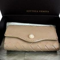 Authentic Bottega Veneta Intrecciato Key Case Leather P209a From Japan Photo
