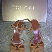 Authentic Brand New Gucci Sandals Size 6.5 Photo
