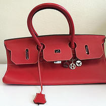 Authentic Brand New Red Hermes Birkin Leather Bag  Photo