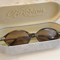 Authentic Brighton Silver Plate Filagree Engraved Summertime Sunglasses & Case Photo