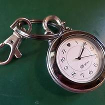 Authentic Brighton Silver Plated Watch Key Ring Photo