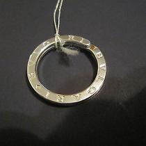 Authentic Bulgari Bvlgari Sterling Silver Key Ring  Photo