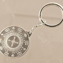 Authentic Bulgari Las Vegas Dices Casino Keychain Keyring Sterling Silver Photo