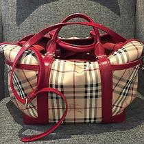 Authentic Burberry Baby Diaper Bag Excellent Condition Photo