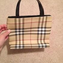 Authentic Burberry Bag Small Photo