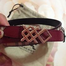 Authentic Burberry  Belt 325 Size 36/90 Photo