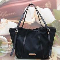Authentic Burberry Black Luxury Shoulder Bag Photo