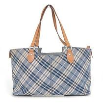 Authentic Burberry Blue Label Blue Tote Bag Photo