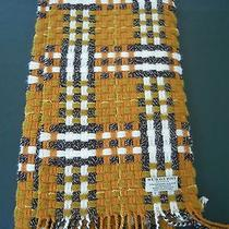 Authentic Burberry Cashmere Blend Knitted Scarf Photo