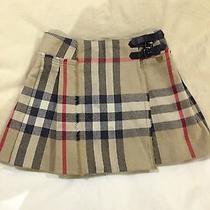 Authentic Burberry Children Kilt Skirt Photo