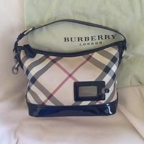 Authentic Burberry Handbag Photo