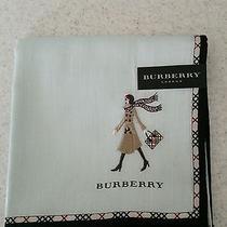 Authentic Burberry Handkerchief New Photo