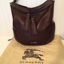 Authentic Burberry Leather Handbag Photo
