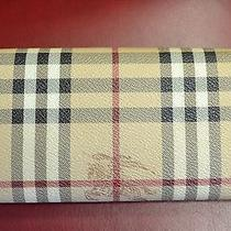 Authentic Burberry Leather Wallet Photo