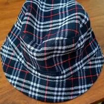 Authentic Burberry London Reversible Bucket Hat Wool One Size England Photo
