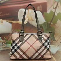 Authentic Burberry Nova Check Luxury Short Shoulder Bag Photo