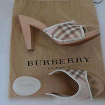 Authentic Burberry Sandals U.s. Size 9 or 9.5 Gently Worn Photo
