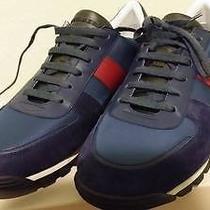 Authentic Burberry Sneakers Kewstoke Low Top Nylon Runner  Photo