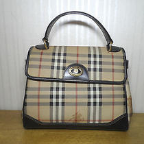 Authentic Burberrys Nova Check Classic Luxury Tote Bag Photo