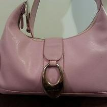 Authentic Bvlgari Apegea Purse - Like New- Soft Pink Leather Outer Suede Inside Photo