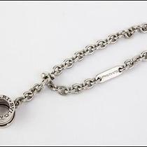 Authentic Bvlgari B01 Sterling Silver Bag Charm Key Chain Photo