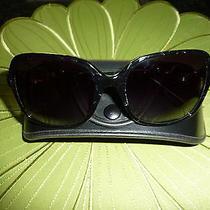Authentic Bvlgari Black Gradient Multi-Color Stone Embellished Sunglasses Photo