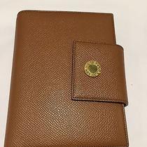 Authentic Bvlgari Black Leather Wallet Bi Fold Purse Photo