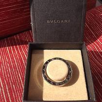 Authentic Bvlgari Key Ring Sterling Silver 925 in Box & Excellent Photo
