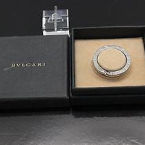 Authentic Bvlgari  Sterling  Silver 925   Key  Ring   B347 Photo