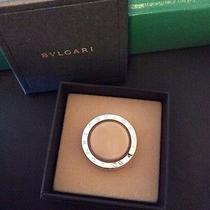 Authentic Bvlgari Sterling Silver Beverly Hills Key Ring Holder Necklace Photo